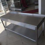 Paslanmaz Çelik Çalışma Masası